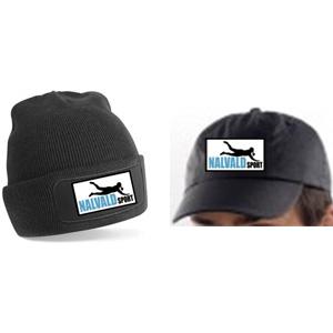 Bonnet ou casquette noirs