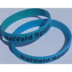 Bracelet sillicone - Ref. 3002 - bleu - 3 tailles différentes - 2,50 €
